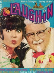 Laufer Publishing Co.'s Laugh-In Magazine Issue # 5