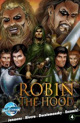 Bluewater Productions's Robin the Hood Issue # 4