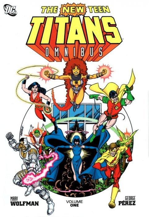 The New Teen Titans Omnibus Hard Cover 1 Dc Comics -4588