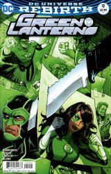 DC Comics's Green Lanterns Issue # 9b