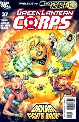 DC Comics's Green Lantern Corps Issue # 37