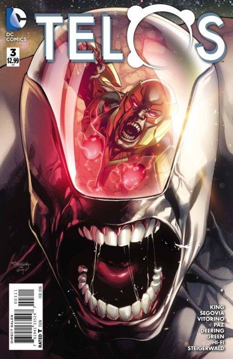 Telos Issue # 5b (DC Comics)