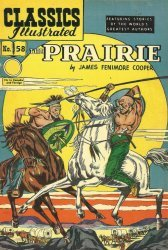 Gilberton Publications's Classics Illustrated #58: The Prairie Issue # 2