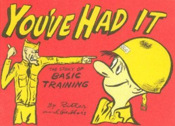 Victoria Publishing Company's You've Had It: Story of Basic Training Issue nn