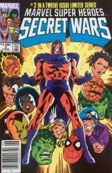 Marvel Comics's Marvel Super-Heroes Secret Wars Issue # 2b