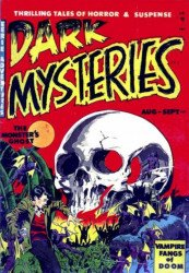 Master Publications's Dark Mysteries Issue # 2