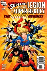 DC Comics's Supergirl and the Legion of Super-Heroes Issue # 31