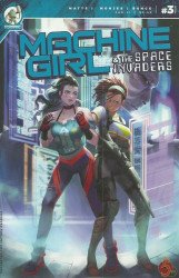 Stonebot Comics's Machine Girl & the Space Invaders Issue # 3
