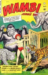 Fiction House's Wambi: The Jungle Boy Issue # 5