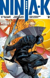 Valiant Entertainment's Ninja-K Issue # 2most good hobby