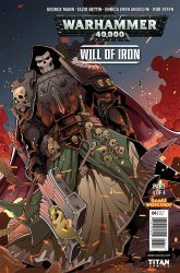 Titan Comics's Warhammer 40000: Will of Iron Issue # 4c
