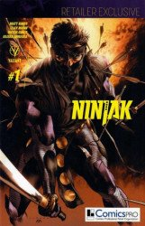 Valiant Entertainment's Ninjak Issue # 1comicspro