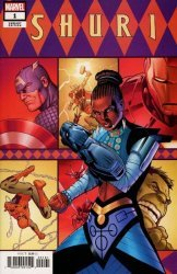 Marvel Comics's Shuri Issue # 1f