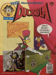 London Editions Magazines's Duckula Issue # 8