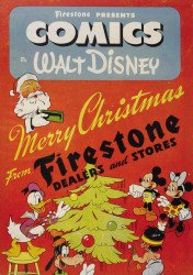 Disney Comics's Donald and Mickey: Merry Christmas Issue # 1943