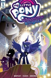 IDW Publishing's My Little Pony: Nightmare Knights Issue # 1