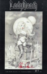 Coffin Comics's Lady Death: Secrets Issue # 1d