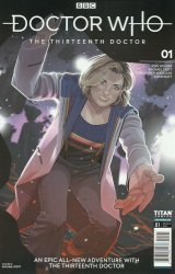 Titan Comics's Doctor Who: 13th Doctor Issue # 1d