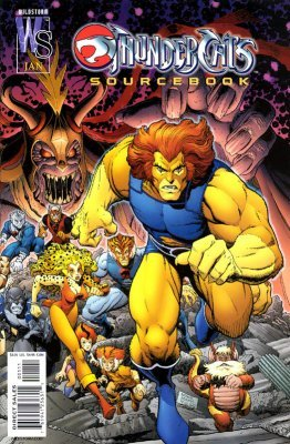 Thundercats Wildstorm on Thundercats  Sourcebook 1  Wildstorm    Comicbookrealm Com