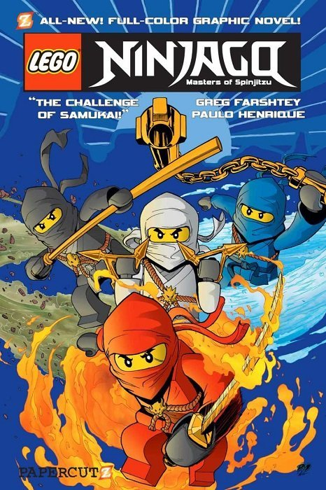 Lego Ninjago: Masters of Spinjitsu Hard Cover 1 (Papercutz ...