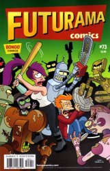 Bongo Comics's Futurama Comics Issue # 73