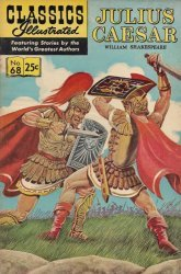 Gilberton Publications's Classics Illustrated #68: Julius Caesar Issue # 8