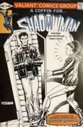 Valiant Entertainment's Shadowman Issue # 4larrys