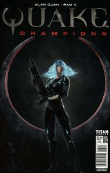 Titan Comics's Quake Champions Issue # 3b