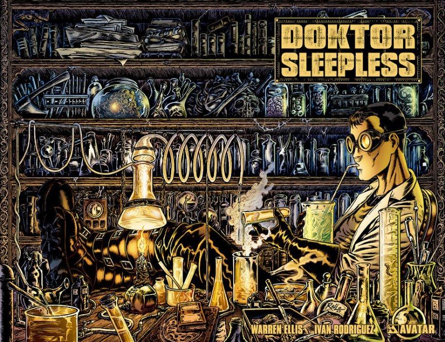 Avatar Presss Doktor Sleepless Issue 2d
