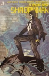 Valiant Entertainment's Shadowman Issue # 1stadium