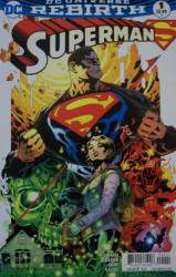 DC Comics's Superman Issue # 1c