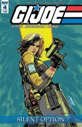IDW Publishing's G.I. Joe: A Real American Hero - Silent Option Issue # 4b