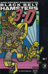 Eclipse Comics's Adolescent Radioactive Black Belt Hamsters in 3-D Issue # 1b