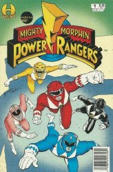 Hamilton Comics's Saban's Mighty Morphin Power Rangers Issue # 1c