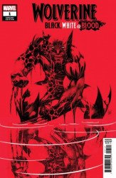Marvel Comics's Wolverine: Black, White & Blood Issue # 1d error