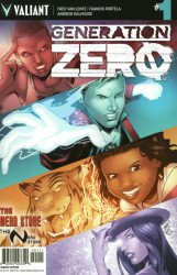 Valiant Entertainment's Generation Zero Issue # 1nerd store