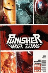 Marvel Comics's Punisher: War Zone Issue # 1b