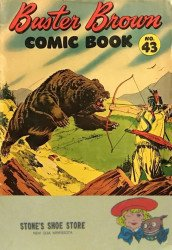 Buster Brown Shoes's Buster Brown Comics Issue # 43stones
