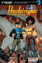 Valiant Entertainment's Harbinger: Renegade Issue # 3most good hobby