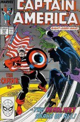 Marvel Comics's Captain America Issue # 344