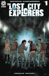 After-Shock Comics's Lost City Explorers Issue # 1