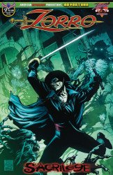 American Mythology's Zorro: Sacrilege Issue # 2