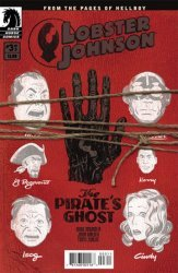 Dark Horse Comics's Lobster Johnson: Pirate's Ghost Issue # 3