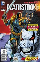 DC Comics's Deathstroke Issue # 10