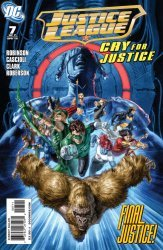 DC Comics's Justice League: Cry for Justice Issue # 7