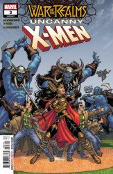 Marvel Comics's War of the Realms: Uncanny X-Men Issue # 3