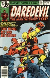 Marvel Comics's Daredevil Issue # 156