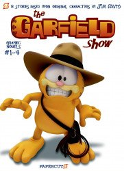 Papercutz's Garfield Show Special set box