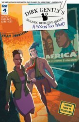 IDW Publishing's Dirk Gently's Holistic Detective Agency - A Spoon Too Short Issue # 4ri