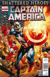 Marvel Comics's Captain America Issue # 7b